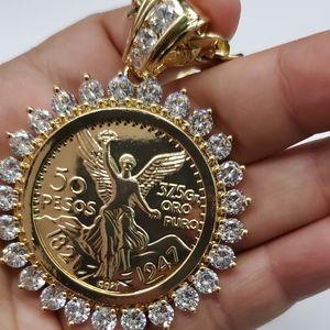 Gold plated centenario no fade